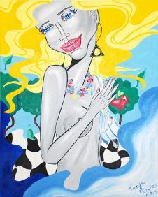Pop Art Artist Tanja Playner